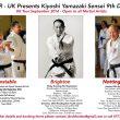 JKR-UK Presents Kiyoshi Yamazaki Sensei Seminars – September 2016